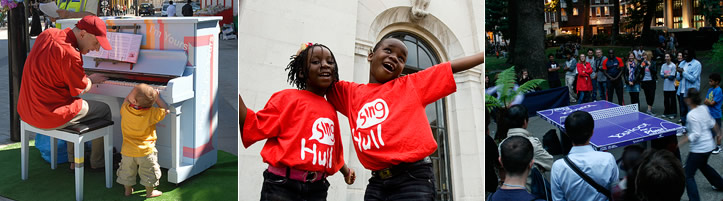 Sing London – Support Us